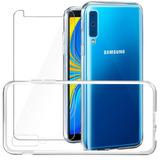 Smartphone Samsung Galaxy A7 64gb 2018 +capa+película Brinde