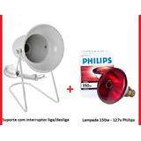 Kit Fisioterapia Suporte Infra + Lampada Philips 150w 127v