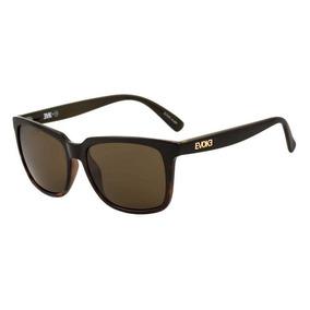 Oculos Sol Evoke Evk 19 Black Demi Gold Brown Total A07 66a7172da9