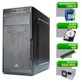 Computador Desktop Intel Core I5 500gb Hd 4gb Memoria Pc Cpu