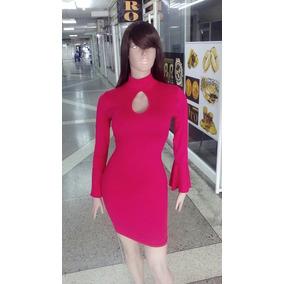 Vestido Casual Manga Larga