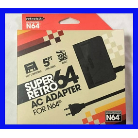 Fonte Nintendo 64 N64 110-220v Bivolt Energia Eletrica