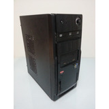 Computador Gabinete Amd 3ghz 4gb Ram Ddr3 500gb Hd