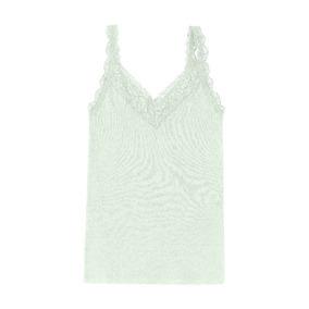 Regata Hering Verde Com Renda! Regatas - Camisetas e Blusas para ... 4e766579d50