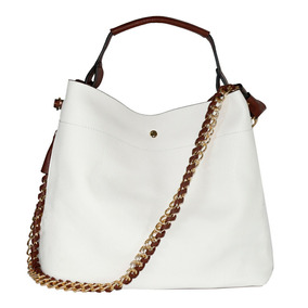 Bolsa Handbag Republic Elegancy 2in1 Couro Importada Usa