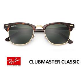 Óculos Ray Ban Clubmaster Rb3016 Marrom  Dourado - Óculos no Mercado ... 5092d0f969