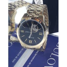 34698c4e8be Bulova 98a106 Automatico Fundo Transparente - Relógios no Mercado ...