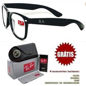Oculo Grau Quadrado Grande Masculino Armacoes Ray Ban - Óculos no ... dffc8fdce0