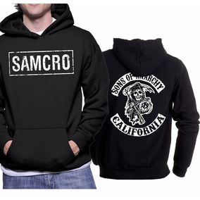 Kit Moletom Mais Camiseta Da Série Sons Of Anarchy Soa 0a0da3c1040