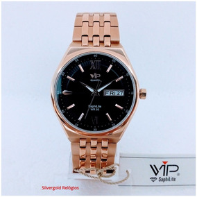 Relógio Masculino Vip Saphilite Mh6360 Original 12x S/ Juros