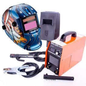 Soldadora Inversora 200 Amp Electrodos 110v Cables Caretas