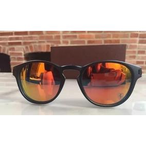 25e160149 Oculos Redondo Lente Vermelho De Sol Oakley Juliet - Óculos no ...