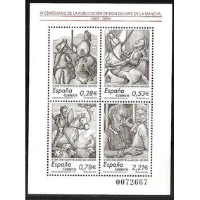 # Mcn # Espanha 2005 - Dom Quixote De La Mancha - Bloco Mint