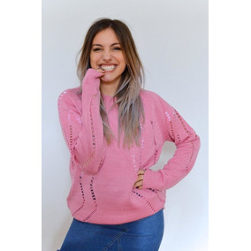 Sueteres Mujer Modernos - Ropa y Accesorios Rosa claro en Mercado ... 7f8398dc6d97