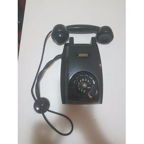 Telefone Ericsson De Parede, Preto Baquelite, Déc: 60
