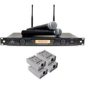 Kit Arcano Microfone Arc-100 + 4 Direct Box Di-10