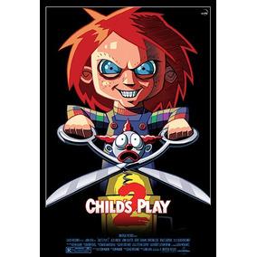 Cartaz Poster Decoração Brinquedo Assassino 2 Filme 33x48cm