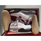 Zapatillas Jordan Retro 4 White Cement