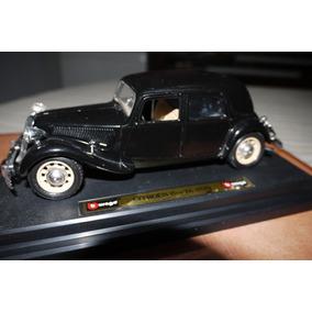 Citroen 15 Cv Ta Año 1938 Escala 1/24 Burago