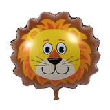 Lion - Lindo Tema De Cumpleaños De Gran Tamaño Animal C-4831