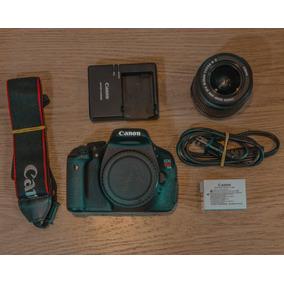 Kit Canon T3i + Lente Canon 18-55mm +carregador Bateria Alça