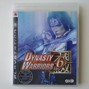 Dynasty Warriors 6 Ps3 Mídia Física Original Perfeito