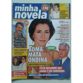 Minha Novela 102 2001 Porto Milagres Rosalinda Por Teu Amor