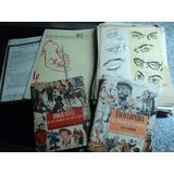 Antiguo Curso Dibujo Escuela Norteamericana De Arte 1952