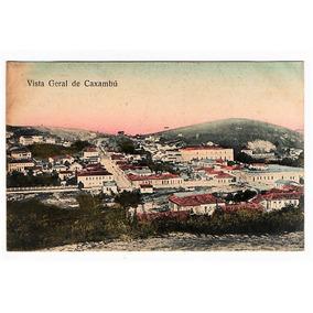 Cartão Postal Vista Geral - Caxambu Mg - Anos 10