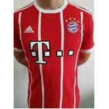 c31512c5f8b52 Camiseta Oficial Bayern Munich James  11 2017 - Envío Gratis