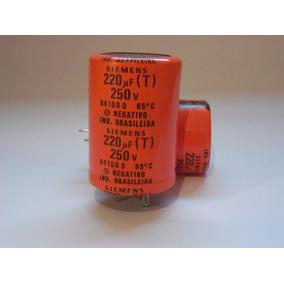 Capacitor Eletrolítico Siemens 220uf/250v(testados)