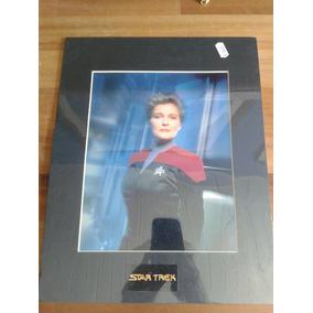 Star Trek Voyager Cap. Janeway - Impressão Chrome