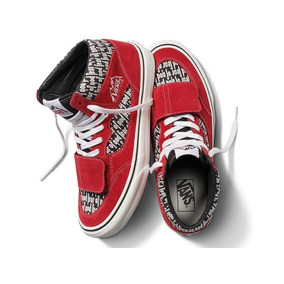 Tenis Vans X Fear Of God Red Fog Mountain Edition Original