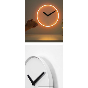 Reloj De Pared Con Sensor Al Sonido Y El Brillo Reloj Pared