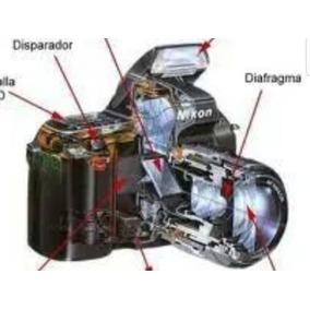 Mecanismo Mais Conjunto Óptico Completo Nikon 24-120mm
