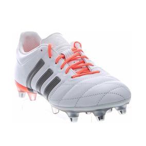 Botines adidas Ace 15.1 Talle 40 Cuero Blanco 100% Original 22d016aa45137