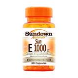 Vitamina E Sun E 1000 Ui Sundown Com 30 Càpsulas