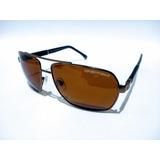 51037011374cd Óculos De Sol Escuro Masculino Ea3071 Metal Grande Barato