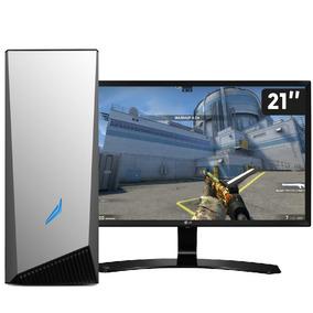 Pc Gamer I5-8400 Gtx 1050 Ti 4gb 8gb 3tb Monitor 21,5 3gamer