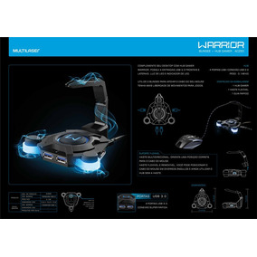 Bungee Gamer Warrior Com Led - Ac293
