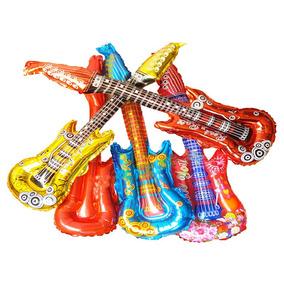 50 Guitarras Inflables Fiesta Batucada Eventos
