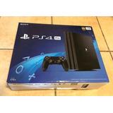 Playstation Ps4 Pro 1tb 4k 1 Joystick Originales