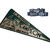 Banderín Original C.d. Español Fútbol Venezuela 1962