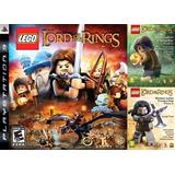 Lego El Señor De Los Anillos + Dlc ~ Ps3 Digital Español