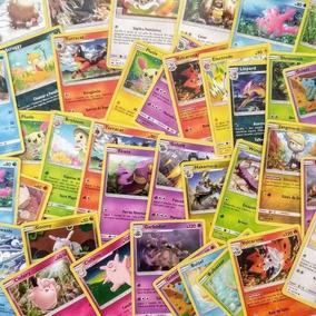 Lote 100 Cartas Pokémon Tcg Originais Sem Repetição + Brinde
