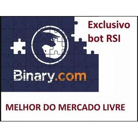 Robo Script Bot Binary C/ Exclusivo Bot Rsi Lancamento