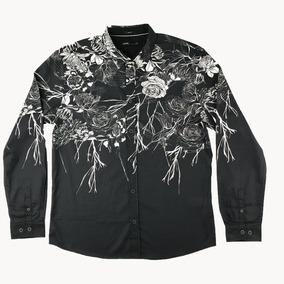 Camisa Mcd Skull - Camisa Manga Longa no Mercado Livre Brasil f3f07ce5c41