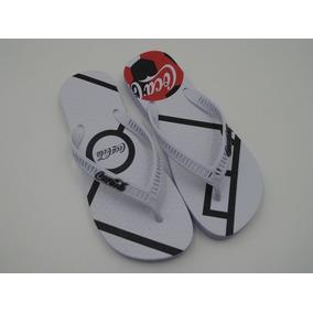 263261d456 Chinelo Coca Cola Shoes Bola No Campo Masculino Cc2497