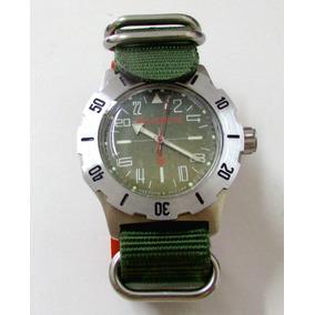 Relógio Automático Komandirskie Vostok 350645 - Russo