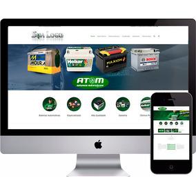 Site Loja Baterias Empresas Auto Peças E Acessórios